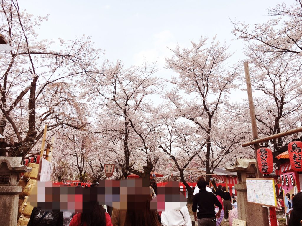 平野神社 花見茶屋 桜茶屋