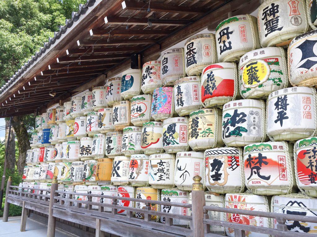 松尾大社 酒樽