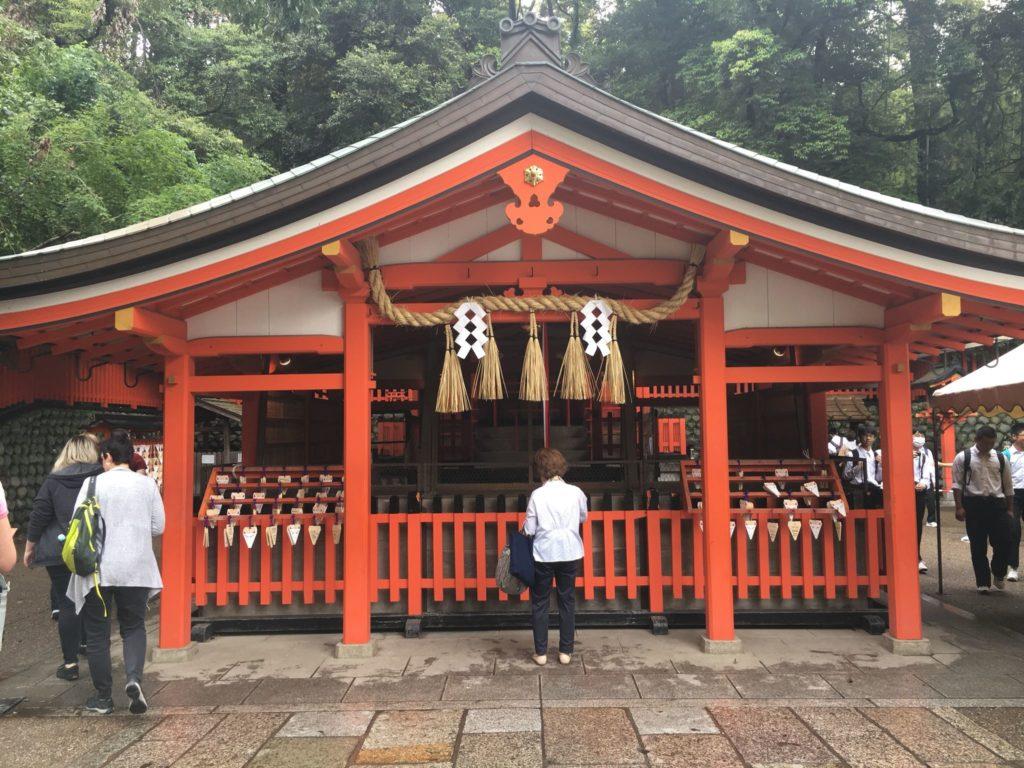 伏見稲荷大社 奥社奉拝所