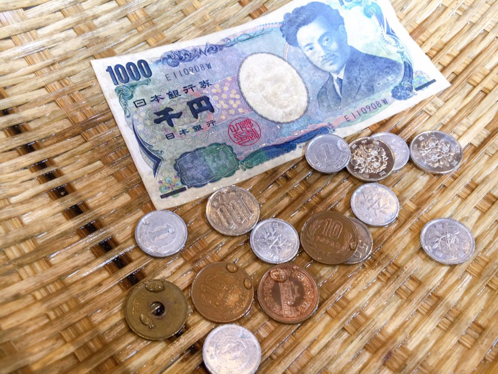 御金神社 お金を洗う