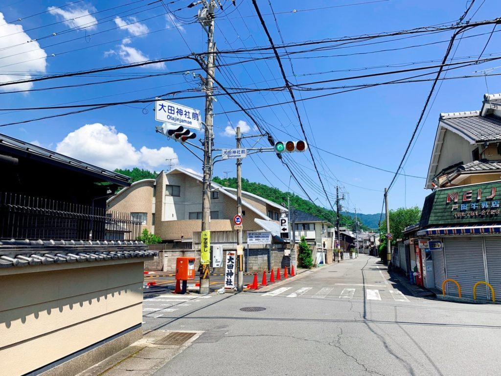 大田神社 アクセス