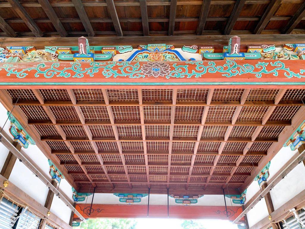 拝殿 御香宮神社