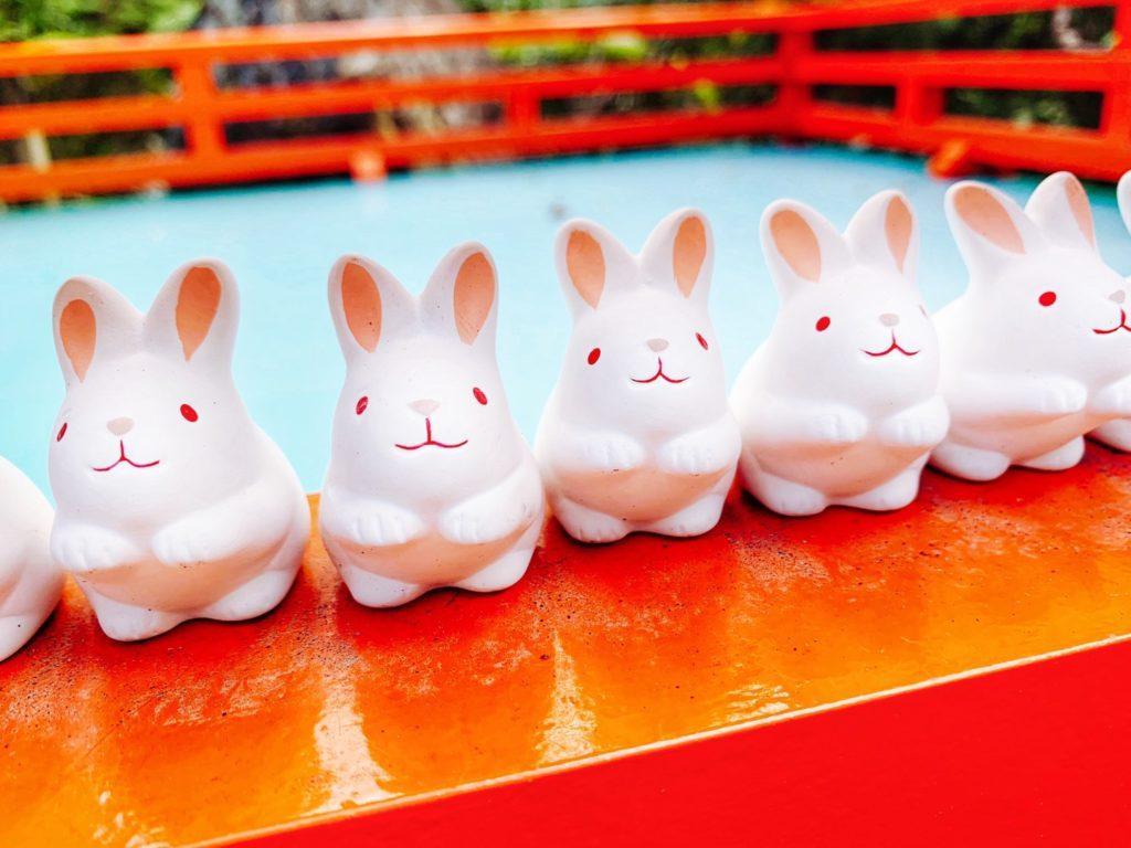 岡崎神社(京都)にはうさぎの置物があるの?人気のうさぎみくじやお守りの種類・値段も紹介!